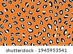 abstract modern leopard... | Shutterstock .eps vector #1945953541