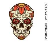 illustration of mexican sugar...   Shutterstock .eps vector #1945975171