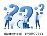 various business people with...   Shutterstock .eps vector #1945977961