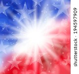 illustration happy 4th of july...   Shutterstock .eps vector #194597909