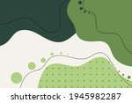 abstract background green color.... | Shutterstock .eps vector #1945982287