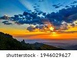 Mountain Sky Clouds Dawn...