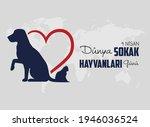 4 nisan d nya sokak hayvanlar ...   Shutterstock .eps vector #1946036524
