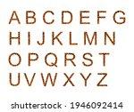 Jaguar Alphabet  Vector Font...