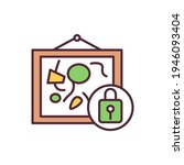 cultural rights rgb color icon. ...   Shutterstock .eps vector #1946093404