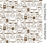 seamless pattern with sports... | Shutterstock .eps vector #1946141791
