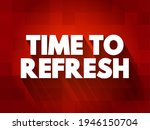 time to refresh text quote ... | Shutterstock .eps vector #1946150704