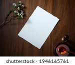 mockup invite card for greeting ... | Shutterstock . vector #1946165761