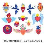 Set Sacred Heart Of Jesus Print ...