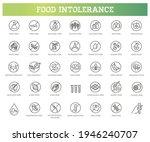 allergen ingredients vector... | Shutterstock .eps vector #1946240707