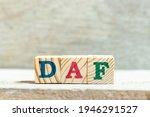 Alphabet Letter Block In Word...