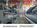 Inside Of Industry Factory....