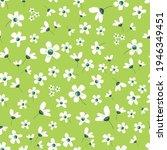 floral blossom seamless pattern....   Shutterstock .eps vector #1946349451