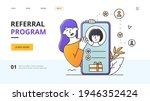 referral program rewards...   Shutterstock .eps vector #1946352424