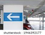 White Arrow Signage On The...