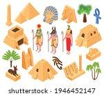 ancient egypt culture symbols... | Shutterstock .eps vector #1946452147