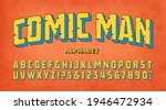comic man  a vintage style...   Shutterstock .eps vector #1946472934