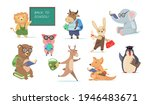 back to school set with funny... | Shutterstock .eps vector #1946483671