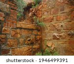 Crumbling Structure Of An Old...