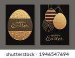 set of two greeting cards for...   Shutterstock .eps vector #1946547694