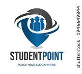 student point vector logo... | Shutterstock .eps vector #1946649844