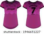 women sports jersey t shirt... | Shutterstock .eps vector #1946651227