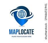 map location vector logo... | Shutterstock .eps vector #1946651941
