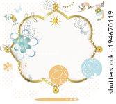 summer frame | Shutterstock .eps vector #194670119