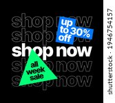discount banner template.... | Shutterstock .eps vector #1946754157