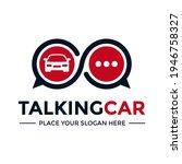 automotive chat vector logo... | Shutterstock .eps vector #1946758327