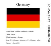 germany national flag  country...   Shutterstock .eps vector #1946792404