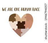 we are one human race. equal...   Shutterstock .eps vector #1946794057