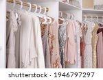 Beautiful female wardrobe. a...