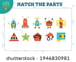 vector mini game sheet with... | Shutterstock .eps vector #1946830981