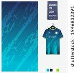 soccer jersey pattern design.... | Shutterstock .eps vector #1946832391