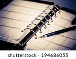 luxury executive leather... | Shutterstock . vector #194686055