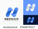 letter n wave business company... | Shutterstock .eps vector #1946879017