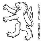 vector illustration of lion for ... | Shutterstock .eps vector #1946882344