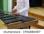 A Marimba Percussion Instrument ...