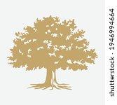 tree logo template  classic...   Shutterstock .eps vector #1946994664
