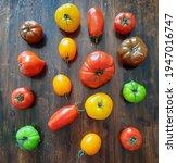 Different Varieties Of Tomato...