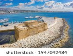 Stone Castle Off Coast Of...