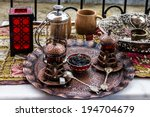 Turkish Traditional Tea Table...
