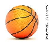 Vector Basketball Isolated Ball ...