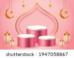3d Product Display Pink And...
