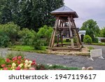 Wooden Bell Tower With Church...