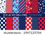 4th of july fireworks polka... | Shutterstock .eps vector #1947125704