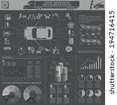 car service  repair... | Shutterstock .eps vector #194716415