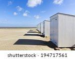 beach cabins at Knokke-Heist, Belgium