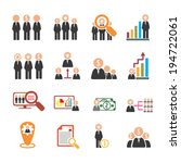 human resources  | Shutterstock .eps vector #194722061